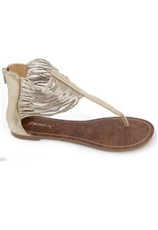 GoMax Womens Berdine 78 Gladiator Sandal - Gold