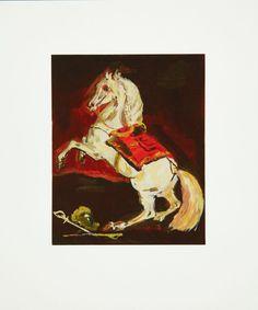 Karen Kilimnik - The Sparkly Lippazanner at the Battle of Austerlitz, Print