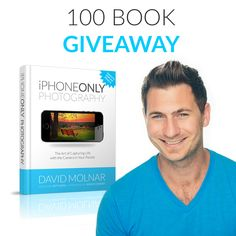 David Molnar is giving away 100 copies of his book iPhone Only Photography - http://davidmolnar.com/giveaways/100-ebooks-for-one-year-book-anniversary/?lucky=463
