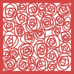 Silhouette Design Store - View Design #67045: roses papercut lace 12x12 page