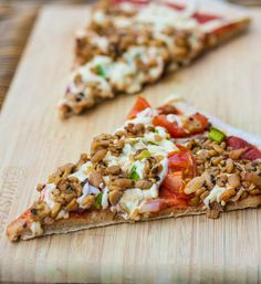 Easiest Whole Wheat Oil Free Pizza dough recipe that will have you eating delicious, homemade, plant strong pizza in just 30 minutes.