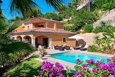 Luxury villa with stunning sea views in Portals Nous, Mallorca, Spain.