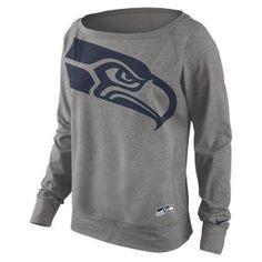 Nike Wildcard Epic (NFL Seahawks) Women's Sweatshirt