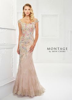 118966 dress (Trumpet, Sweetheart, Cap Sleeves, Cap Sleeve) from  Montage by Mon Cheri 2018, as seen on dressfinder.ca. Click for Similar & for Store Locator.