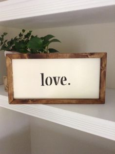 Wooden LOVE Sign by BurlapAve on Etsy  Wood Sign  LOVE Sign Burlapave   Etsy