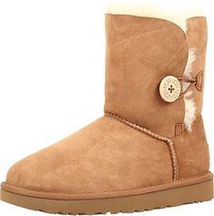 16 Styles of chic and affordable winter boots for women that are perfect for your winter outfits  UGG Women's Bailey Button II Boot Short Heel Boots, Low Heel Ankle Boots, Bootie Boots, Women's Boots, Ankle Booties, Faux Fur Boots, Warm Boots, Winter Fashion Boots, Winter Boots