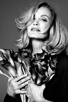 Jessica Lange (1949) - American actress who has worked in film, theater and television. Photo by Paola Kudacki, 2014