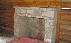 Fireplace inside of Laura Ingalls Wilder Cabin Pepin, WI by Library Grandma, via… Dollhouse Tutorials, Diy Dollhouse, Dollhouse Miniatures, Miniature Tutorials, Laura Ingalls Wilder, Miniature Furniture, Dollhouse Furniture, Cabins And Cottages, Miniture Things