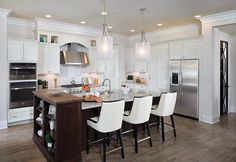 Cook together tonight! See more great kitchens at http://arhomes.us/1IVuCdy