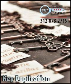 Getting keys made that work in Chicago is not always simple. At Chicago Locksmiths they understand the individual processes associated with duplicating the various makers of keys in Chicago.