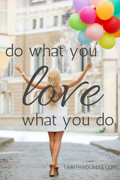 The key to productivity: do what you love and love what you do. End busyness and get more done.