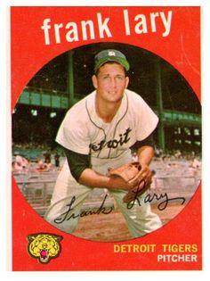1959 Topps Frank Lary Detroit Tigers