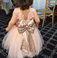 Beautiful baby girl dress
