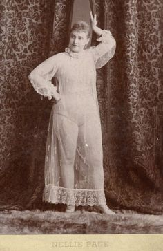 1890s burlesque - These photos were collected by Charles H. McCaghy, a professor emeritus at Bowling Green State University in Ohio.