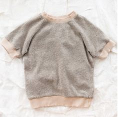 Soft posh type colours so dreamy. Pair with dungarees..