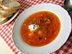 Ukrajinský boršč Thing 1, Thai Red Curry, Ethnic Recipes, Food, Essen, Meals, Yemek, Eten