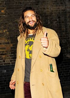 dcfilms: Jason Momoa at the Chiltern Firehouse in London, England on April 10, 2016.