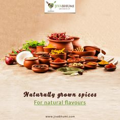 Bring the authentic flavours to your dishes with naturally grown, chemical free spices . Shop for them at: https://shop.jivabhumi.com #Farm #Food #FarmersMarket #SafeFood