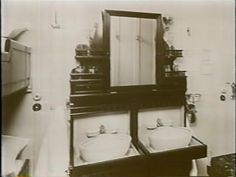 3rd class wash basins on the titanic