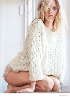 Marloes Horst-  Victoria's Secret Sweaters