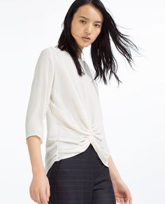 Image 3 of KNOT TOP from Zara