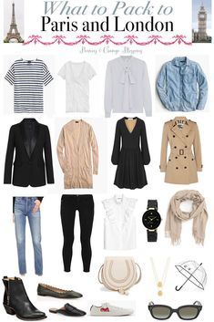 Packing List: What to Pack to Paris - Petite Haus