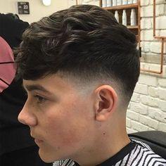Image result for men hair style half blonde half black
