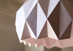 DIY, Une jolie suspension origami | LemonRock