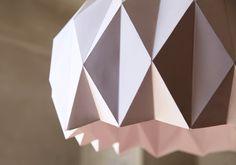 DIY, Une jolie suspension origami | LemonRock