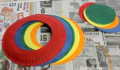 Ring Toss Game for Preschoolers - Circus Games