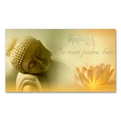 Om mani padme hum -Mantra Card Double-Sided Standard Business Cards (Pack Of 100). This is a fully customizable business card and available on several paper types for your needs. You can upload your own image or use the image as is. Just click this template to get started!