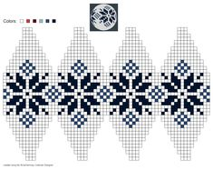 grille points jacquard norway arne et carlos Knitted Christmas Decorations, Knit Christmas Ornaments, Beaded Ornaments, Christmas Cross, Crochet Home, Bead Crochet, Christmas Knitting Patterns, Crochet Patterns, Fair Isle Chart
