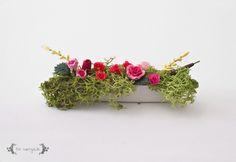 DIY Miniature Dollhouse Window Flower Box | www.fivemarigolds.com