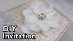 Easy elegant flower Invitation | DIY Wedding Invitations, Eternal Statio...