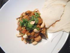 """Curry mit Aubergine und grünen Bohnen nach """"Täglich Vegetarisch"""""""