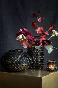 Glazen vaas met structuur | H&M