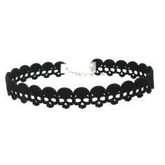 Skull Choker Necklace made in soft Black Velvet Skull Earrings, Skull Bracelet, Skull Jewelry, Charm Jewelry, Choker Outfit, Black Velvet Choker Necklace, Harajuku, Black Skulls, Collar Necklace