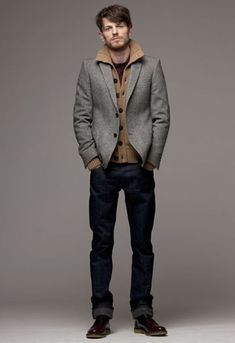 Men's Fall Fashion. I would love to see hubby in this outfit.