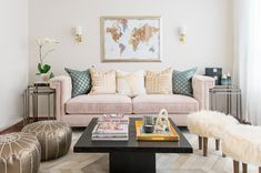 Laurel & Wolf helps the beauty vlogger create a live/work space that reflects her glamorous personal style.
