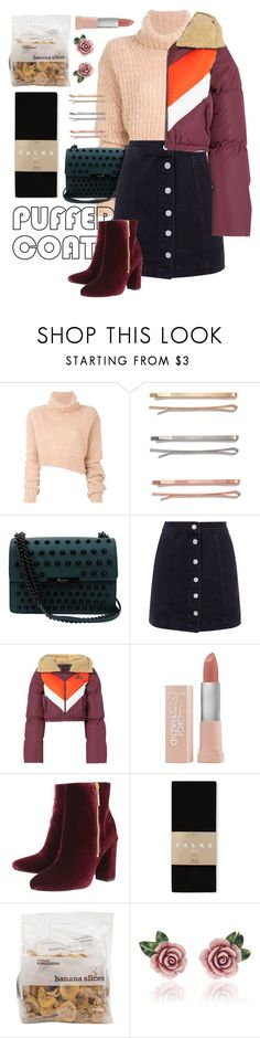 """""""Vivian"""" by brie-the-pixie ❤ liked on Polyvore featuring Ann Demeulemeester, Madewell, Foley + Corinna, Puma, Maybelline, Ravel, Falke, Dolce&Gabbana, fashionset and fallfashion"""