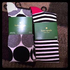 Kate Spade Socks (2) Brand new pair of Kate Spade knee high socks. kate spade Other