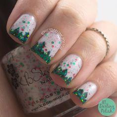 Hey Darling Polish - Holly Back Girl & Pine trees