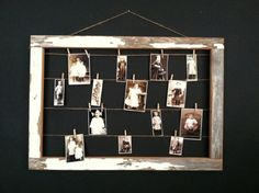 B A R N  wood frame display / reclaimed wood empty by FORTRESSco, $45.00
