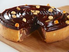Tarta brownie de chocolate