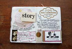 October 2012 Journal by Paper Relics (Hope W. Karney), via Flickr