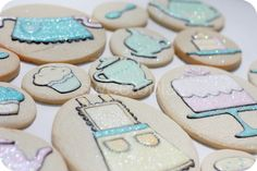 Pastel Tea Party Cookies on Sweetopia   Flickr - Photo Sharing!