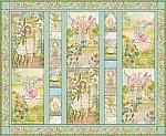 Garden+Girls,+Quilt+Kit,+Cori+Dantini,+Blend+Fabric