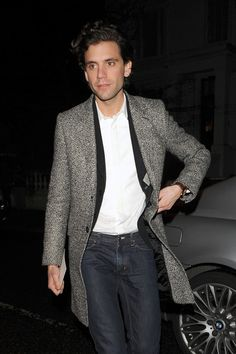 """Mika spotted leaving Claudia Schiffer and Matthew Vaughn's London home after attending the after party for the new film """"Kick-Ass"""". March 23, 2010"""