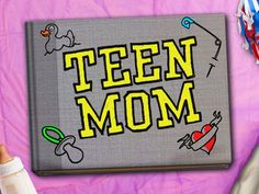 Teen Mom...I'm really in love with this show...it's like a soap opera lol