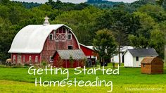 The biggest struggle people have with homesteading is getting started. First read all you can then I will show you how to write a plan to make it easy.